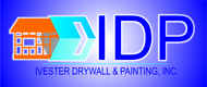 IVESTER DRYWALL & PAINTING, INC. Logo - Entry #98