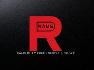 Rams Duty Free + Smoke & Booze Logo - Entry #207