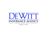 """DeWitt Insurance Agency"" or just ""DeWitt"" Logo - Entry #165"