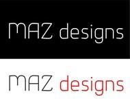 Maz Designs Logo - Entry #306