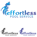 Effortless Pool Service Logo - Entry #51