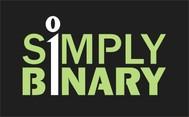 Simply Binary Logo - Entry #187