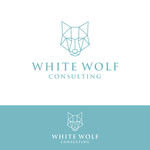 White Wolf Consulting (optional LLC) Logo - Entry #364