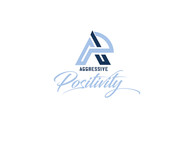 Aggressive Positivity  Logo - Entry #95