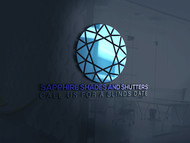 Sapphire Shades and Shutters Logo - Entry #85