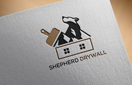 Shepherd Drywall Logo - Entry #150