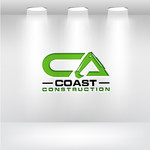 CA Coast Construction Logo - Entry #94
