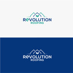 Revolution Roofing Logo - Entry #567