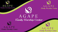 Agape Logo - Entry #136
