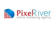 Pixel River Logo - Online Marketing Agency - Entry #119