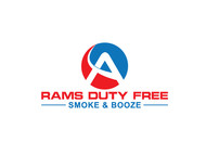 Rams Duty Free + Smoke & Booze Logo - Entry #48
