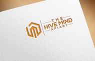 The Hive Mind Apiary Logo - Entry #32