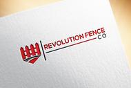Revolution Fence Co. Logo - Entry #288