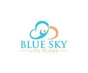 Blue Sky Life Plans Logo - Entry #196