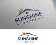 Sunshine Homes Logo - Entry #178