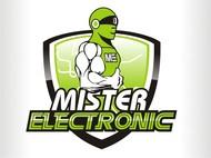 Mister Electronic Logo - Entry #62