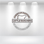American Diamond Cattle Ranchers Logo - Entry #88