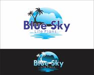 Blue Sky Life Plans Logo - Entry #211