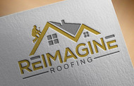 Reimagine Roofing Logo - Entry #140