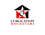 CZ Real Estate Rockstars Logo - Entry #137
