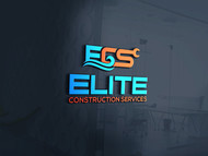 Elite Construction Services or ECS Logo - Entry #336