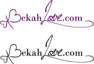 BekahLove.Com Logo and Script  - Entry #25