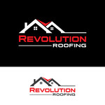 Revolution Roofing Logo - Entry #231