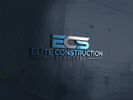 Elite Construction Services or ECS Logo - Entry #25