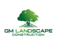 GM Landscape Construction Logo - Entry #40