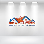 Revolution Roofing Logo - Entry #248