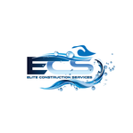 Elite Construction Services or ECS Logo - Entry #147