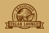 Ambassador Cigar Lounge Logo - Entry #39