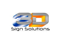3D Sign Solutions Logo - Entry #9