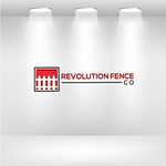 Revolution Fence Co. Logo - Entry #119