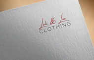 Lali & Loe Clothing Logo - Entry #83