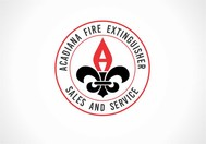 Acadiana Fire Extinguisher Sales and Service Logo - Entry #272