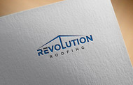 Revolution Roofing Logo - Entry #487