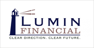 "Lumin Financial - ""Clear Direction. Clear Future."" Logo - Entry #36"
