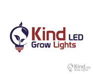 Kind LED Grow Lights Logo - Entry #5