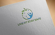 Live Fit Stay Safe Logo - Entry #13