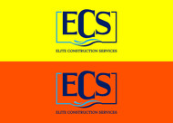 Elite Construction Services or ECS Logo - Entry #129
