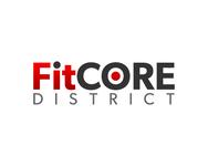 FitCore District Logo - Entry #189