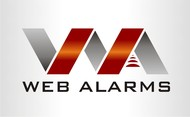 Logo for WebAlarms - Alert services on the web - Entry #159