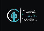 Twisted Turquoise Boutique Logo - Entry #195