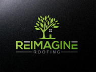 Reimagine Roofing Logo - Entry #142