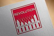 Revolution Fence Co. Logo - Entry #369