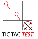 TicTacTest Logo - Entry #44