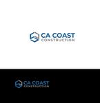 CA Coast Construction Logo - Entry #242