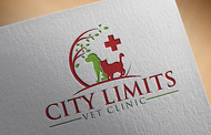 City Limits Vet Clinic Logo - Entry #364