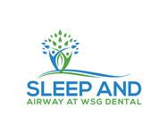 Sleep and Airway at WSG Dental Logo - Entry #596